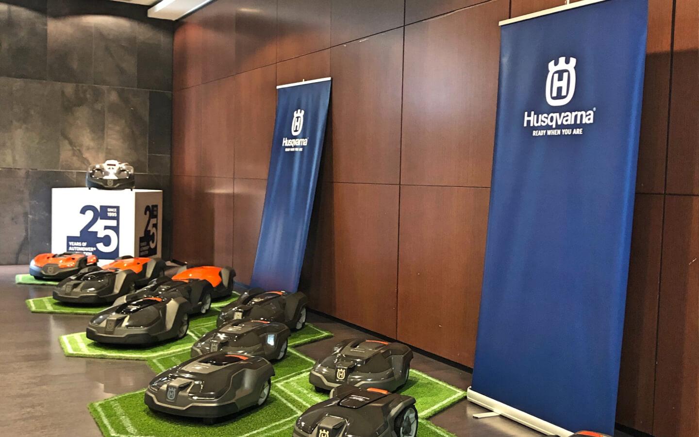 Husqvarna aumenta el compromiso con la sostenibilidad con una creciente apuesta por los motores de batería