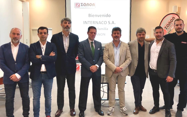 INTERNACO S.A. alcanza un acuerdo con ZANON SRL para la distribución de la marca italiana de maquinaria agrícola en España.