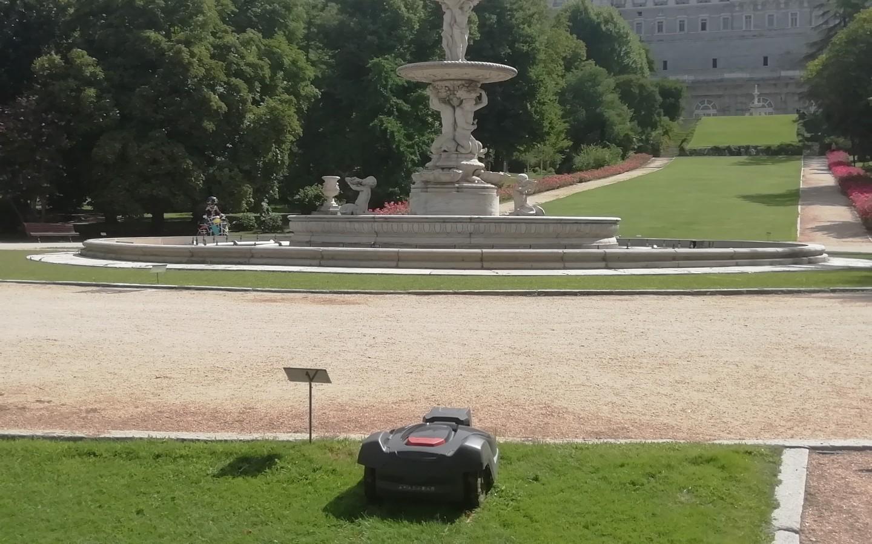 Le Service espagnol du patrimoine national mise sur une technologie de pointe pour l'entretien de ses jardins