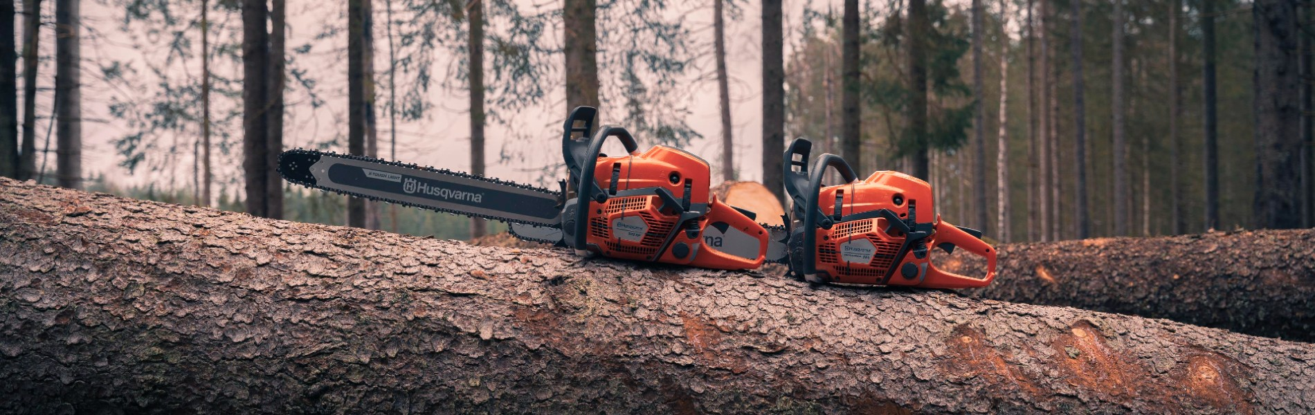 Introducing Husqvarna's new 90cc chainsaws, more powerful, more reliable and comfortable  for the operator