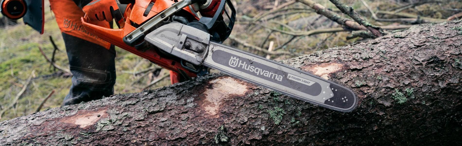 Husqvarna se alían con Tsumura / Suehiro Seiko Co LTD para desarrollar su próxima generación de espadas de motosierra